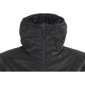 Icebreaker Hyperia Hooded Jacket Women black